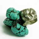Salomé Osorio | Rings Large Turquoise Ring [1]