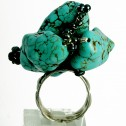 Salomé Osorio | Rings Large Turquoise Ring [3]