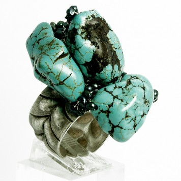Salomé Osorio | Rings Large Turquoise Ring