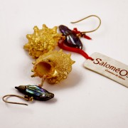 Salomé Osorio | Earrings Gilded Shell earrings