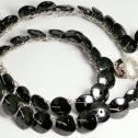 Salomé Osorio | Necklaces Hematite Lace [1]