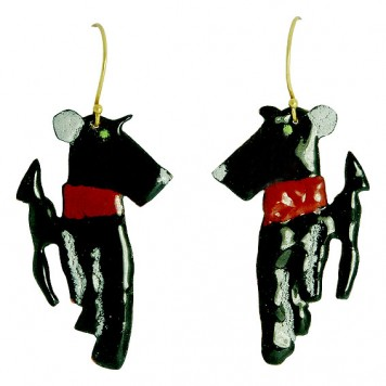 Salomé Osorio | Earrings Dogs Earrings
