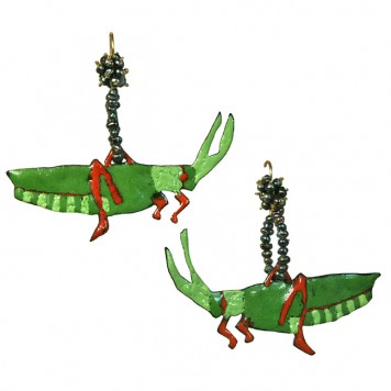 Salomé Osorio | Earrings Grasshopper Earrings