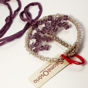 Salomé Osorio | Necklaces Amethyst Tree Pendent