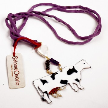 Salomé Osorio | Necklaces Cow Pendent