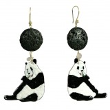 Salomé Osorio | Panda Earrings